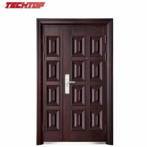 China Tps 024a Certificate Low Safety Door Price Modern Safety Door