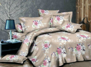 Woven Technics Microfiber Brushed Polyester Fabric /Making Bedding Sets pictures & photos