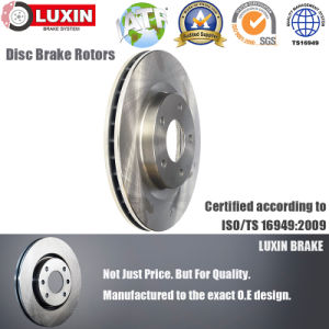 Automotive Spare Parts Disc Brake for Nissan Front Axle