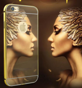 Metal Mirror for iPhone 6s/7puls Hard Phone Case 6plus Cell Phone Accessories for Samsung J5prime J7 Prime