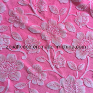 3D Print Flannel Fabric with Flower Design pictures & photos