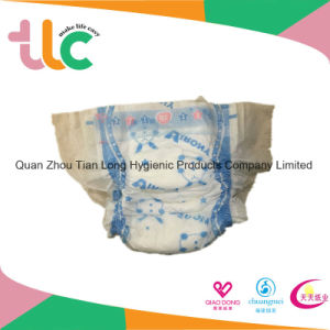 Top Factory 3D Leak Prevention Channel Anti-Leak Baby Diaper Manufacturers OEM in Quanzhou