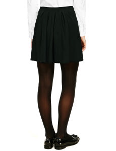 High School Pleated Knit Skirt for School Uniform pictures & photos