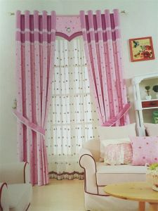 2016 Morden Polyester Texile Window Curtain Fabric EDM4878