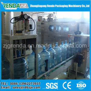 Automatic 5 Gallon Barrel Drinking Water Filling Machine pictures & photos