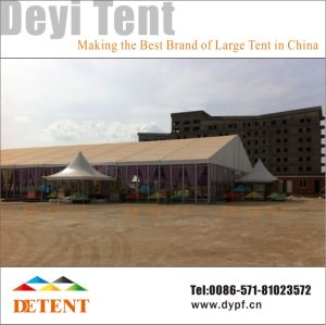 Outdoor Exhibition Wedding Party Tent with Glass Wall & Lining pictures & photos