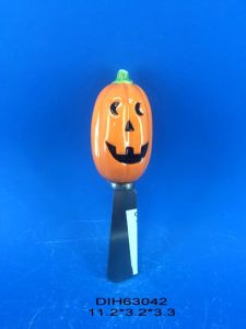 Halloween Decorative Spreader with Ceramic Pumpkin Handle pictures & photos