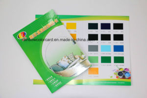 Customized Printed Paper Color Card for Advertising pictures & photos