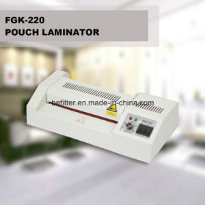 FGK-220 A4 cold and hot pouch laminator pictures & photos