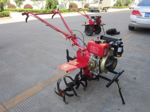 Hot Sale Chinese Manufacture Multifunctional Mini Handy Diesel Power Tiller for Plough pictures & photos