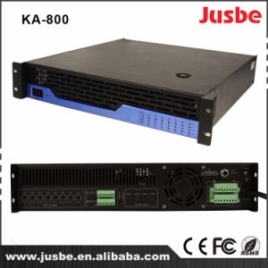 Jusbe 120/200W 8 Channel PA System Loudspeaker Amplifier with RS485 pictures & photos