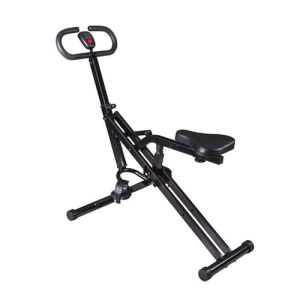 Magnetic Control or Meshbelt Height Adjustable Horse Riding Machine with Hydraulic Pole