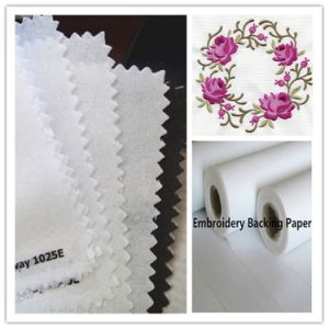 Chemical Bond Nonwoven Fabric with 100% Polyester pictures & photos