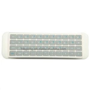 Mini 2 4G RF USB Bluetooth Keyboard for Smart TV Keyboard White