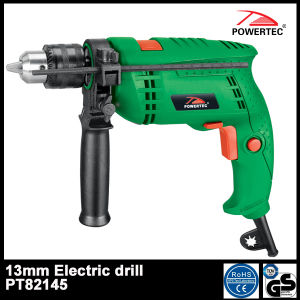 Powertec 13mm Electric Impact 13re Drill (PT82145) pictures & photos