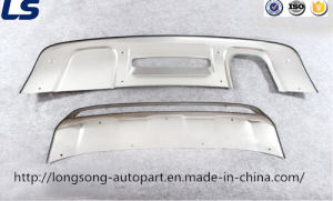 Stainless Steel Front/Rear Bumper Protector for Audi Q3 2013+