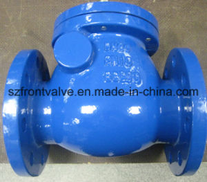 Cast Iron/Ductile Iron Flanged End Lift Check Valves pictures & photos