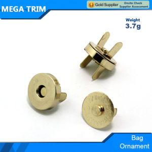 18mm Gold Magnetic Button in Huadu pictures & photos