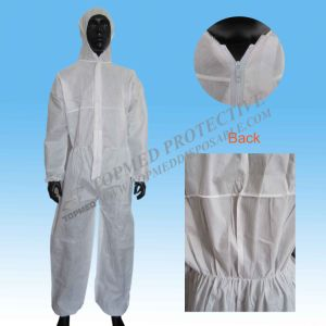 Long Sleeve Workmens Disposable Cheap Safety Workwear Coverall pictures & photos