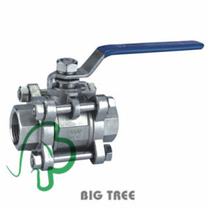 3 PC Stainless Steel Hydraulic Ball Valve pictures & photos