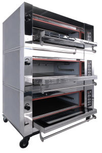 Electric 3 Deck Oven with Ce pictures & photos