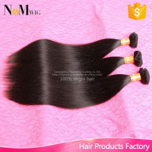 8A Unprocessed Brazilian Virgin Straight 8-32 Hair Weft pictures & photos
