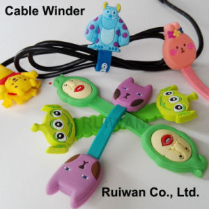 Wholesale Earphone Cable Winder for Cable Organization pictures & photos