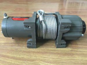 3500lb 3-Stage Planetary ATV/Utility Electric Winch with Automatic Load-Holding Brake pictures & photos