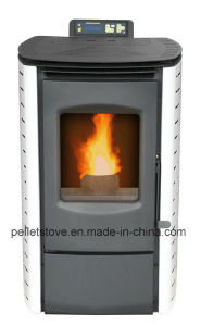 TUV Certified Best-Selling Indoor Wood Pellet Stove with Remote Control (MINI) pictures & photos