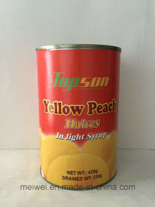 Canned Yellow Peach Halves in Light Syrup pictures & photos