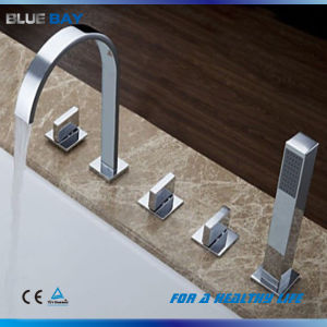 Brass Waterfall Bath Faucet Bathtub Tap Mixer pictures & photos