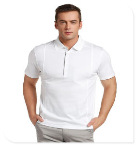 Hot Sale Wholesale Cheap Solid Color Stylish Polo Shirt for Men