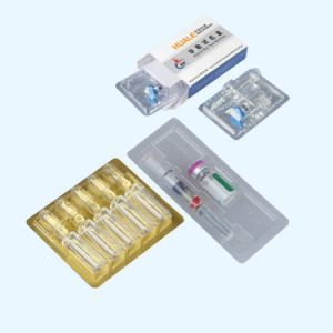 Pharmaceutical Automatic Vial Ampoul Blister Packing Machine pictures & photos