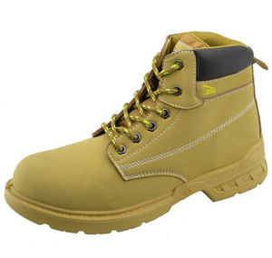 5d2043ec816 Best Selling Genuine Leather Steel Toe Safety Shoes (HD. 0831)