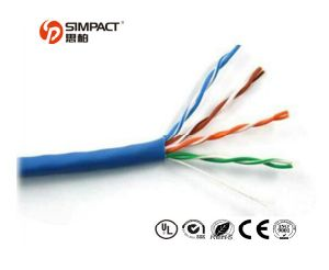 UL, CE, RoHS Apporved Self-Extinguishing UTP Cat5e LAN Cable pictures & photos