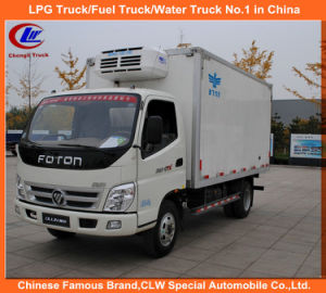 1tons 2tons 3tons Foton Mini Ice Cream Transport Refrigerator Truck pictures & photos