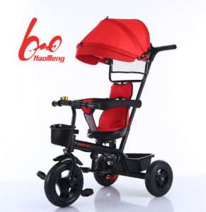 Factory Wholesale 3 in 1 Baby Tricycle Stroller