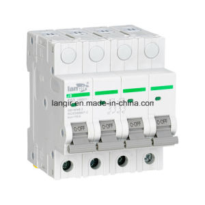 Hot Sell! ! ! Langir 4 Pole Mini Circuit Breaker High Quality with TUV Certificates, DC Circuit Breaker 1A~63A pictures & photos