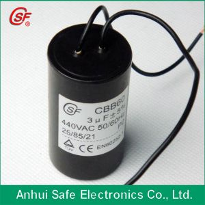 Cbb60 Motor Run Capacitor with Cable 250VAC 35UF pictures & photos