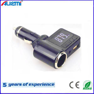 Portable USB Car Charger with Cigarette Lighter