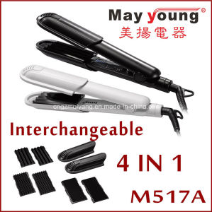 4 in 1changeable Plate Design Hair Straightener pictures & photos