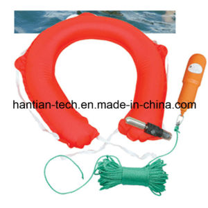 Lifesaving Throw Over Boat Inflatable Life Buoy for Sale (ZHAQQZD) pictures & photos