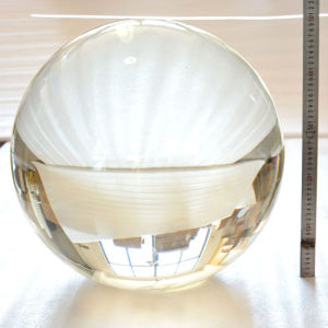 Large Clear Crystal Glass Ball 500mm, 600mm, 700mm 800mm, 900mm, 1000mm pictures & photos