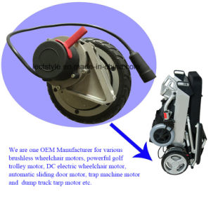 500W 115V AC Road Sweeper Motor for Floor Sweeper Machine pictures & photos