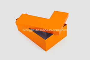 Personalized Cardboard Display Letter Grid Boxes Display Shaped Jewelry Boxes pictures & photos