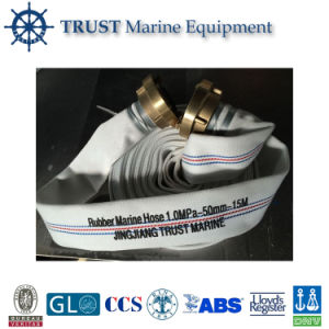 Marine Natural Rubber Lining Fire Hose pictures & photos