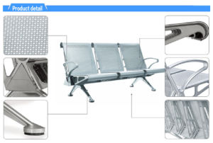 Aluminium Steel School Beam Seat for Salon Beauty Hairdressing Hair Stylist Barber Training Room