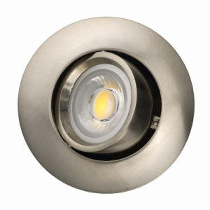 Die Casting Aluminum GU10 MR16 Round Tilt Recessed LED Ceiling Light (LT1204) pictures & photos