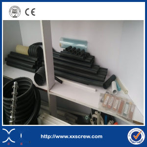 Extruder Manufacturer Making Flexible PE Pipe pictures & photos