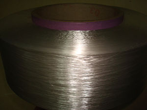 Cationic Polyestger Filament FDY Yarn Optical White Bright pictures & photos
